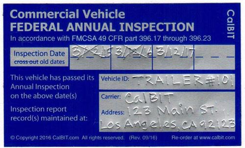 Bit Inspection Form